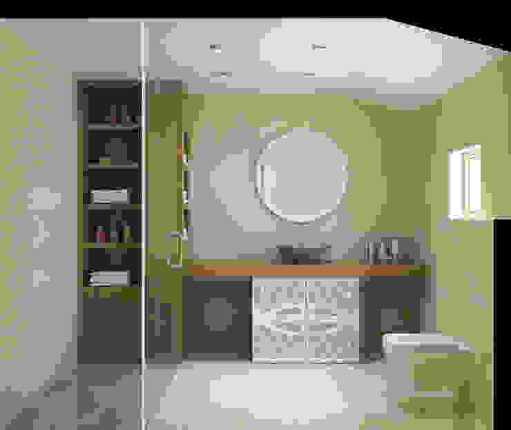 Latis Mimarlık ve İnşaat – Banyo Dekorasyon 03: modern tarz , Modern