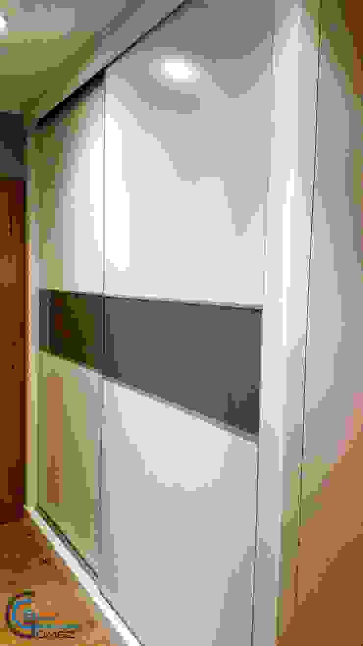 armario lacado blanco de Almacén de Carpintería Gómez Moderno