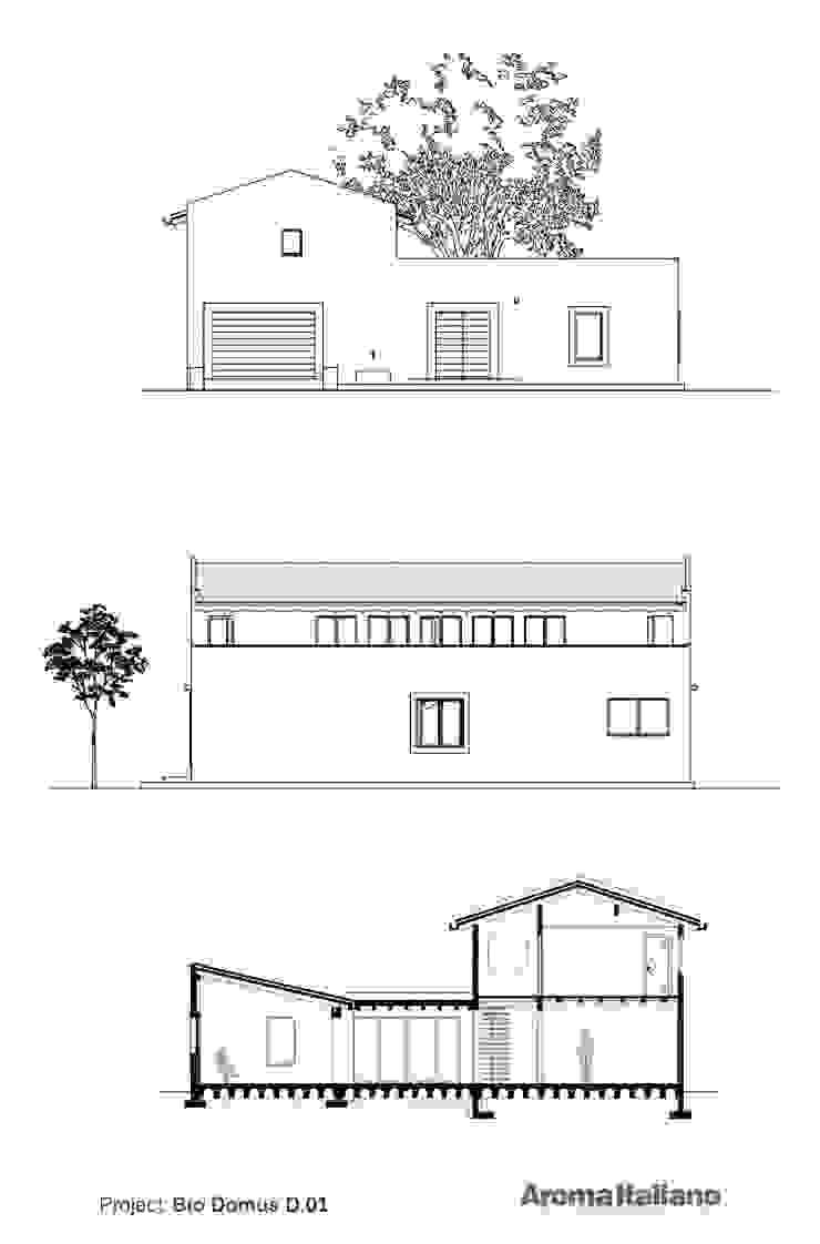 Bio Domus D.01 | casa in bio-architettura in Costa Rica Aroma Italiano Eco Design Bianco