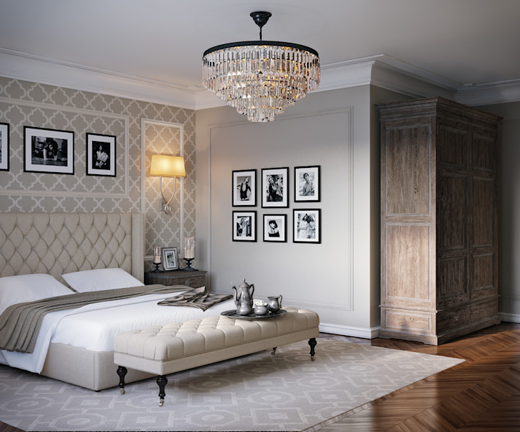Classic style bedroom by EJ Studio Classic