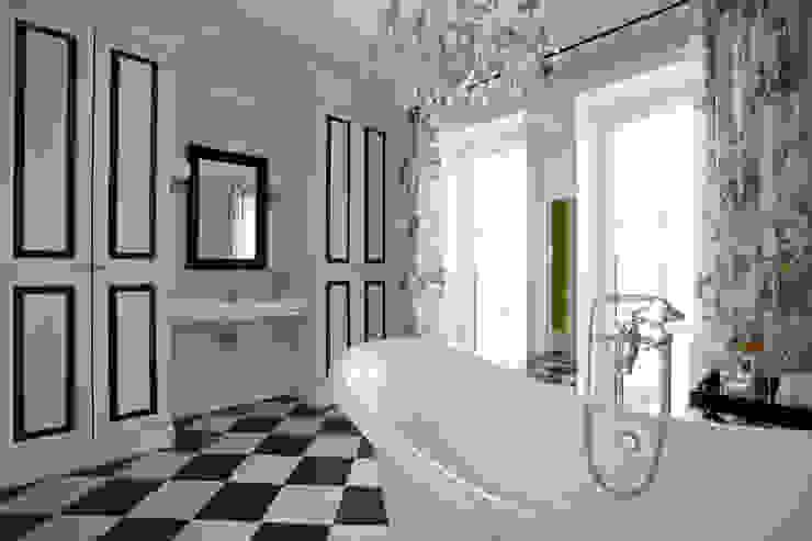 Хозяйская ванная Оксана Панфилова Ванная в классическом стиле