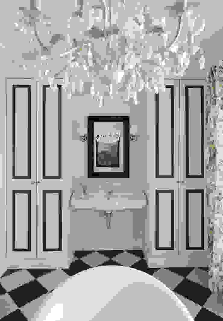 Хозяйская ванная. Оксана Панфилова Ванная в классическом стиле