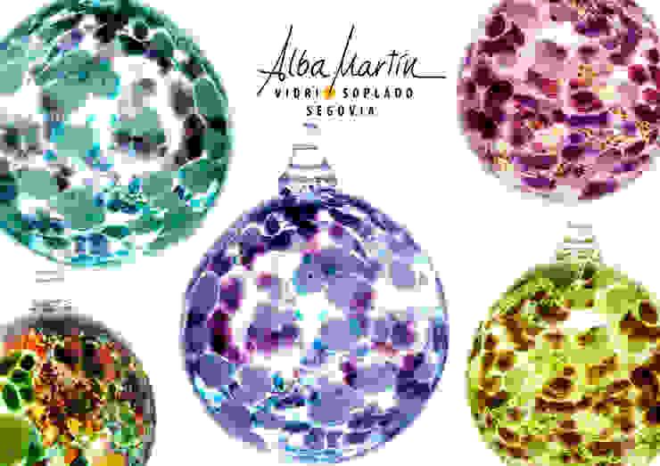 """""""Burbujas"""" vidrio soplado de Alba Martín Vidrio Soplado Moderno"""