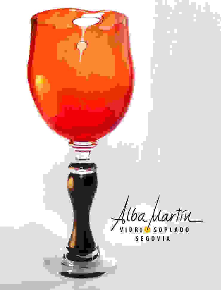 por Alba Martín Vidrio Soplado Moderno