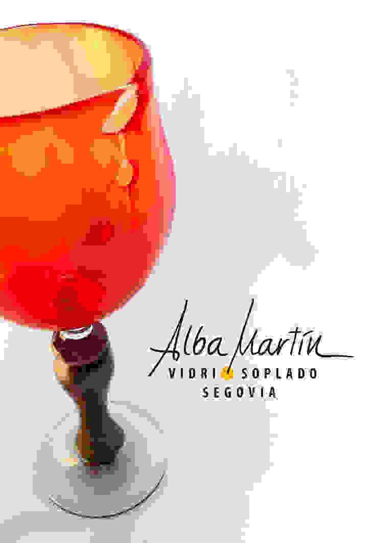 """""""Copas"""" vidrio soplado de Alba Martín Vidrio Soplado Moderno"""
