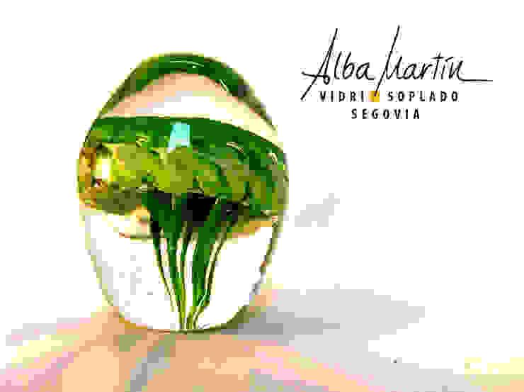 """""""Pisapapeles medusa"""" vidrio soplado de Alba Martín Vidrio Soplado Moderno"""