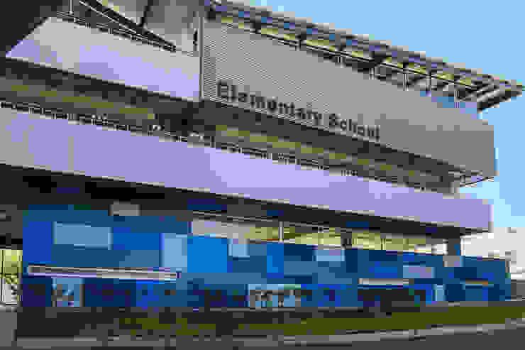 JFK Elementary School Estudios y despachos modernos de VG+VM Arquitectos Moderno