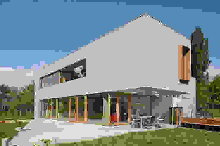 passiefwoning te Blanden Moderne huizen van hasa architecten bvba Modern