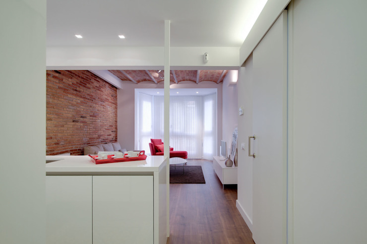 Salas de estar minimalistas por ELIX Minimalista