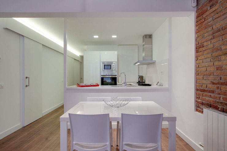 Promoción ELIX Sardenya, 354 - Barcelona Cocinas de estilo minimalista de ELIX Minimalista