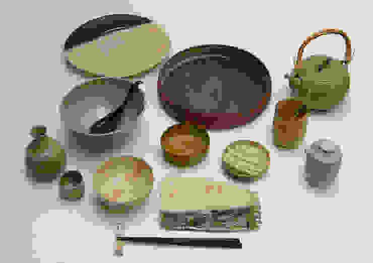 Vajilla japonesa de Cerámica Micazuki Asiático