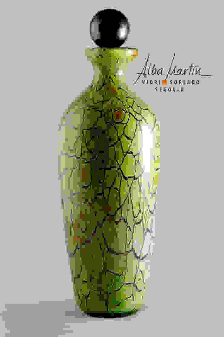 """Licorera"" vidrio soplado de Alba Martín Vidrio Soplado Moderno"