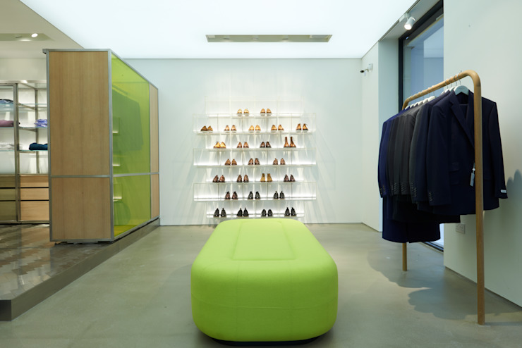 Richard James Minimalist commercial spaces by Superfutures Minimalist