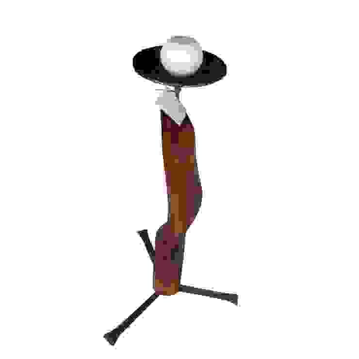 Pflaumen Kerzenständer von Tischlerei RMD Rustikales Möbeldesign Kolonial