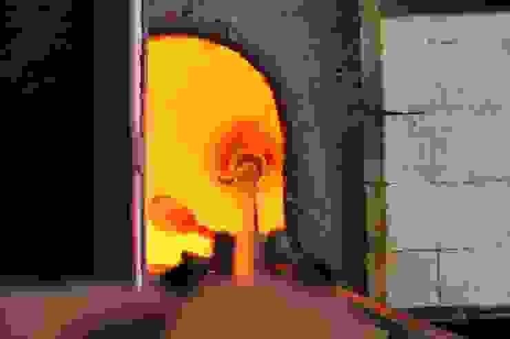El proceso del vidrio soplado de Alba Martín Vidrio Soplado Moderno