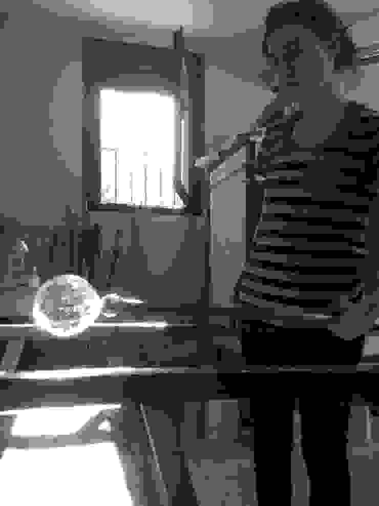El proceso del vidrio soplado de Alba Martín Vidrio Soplado