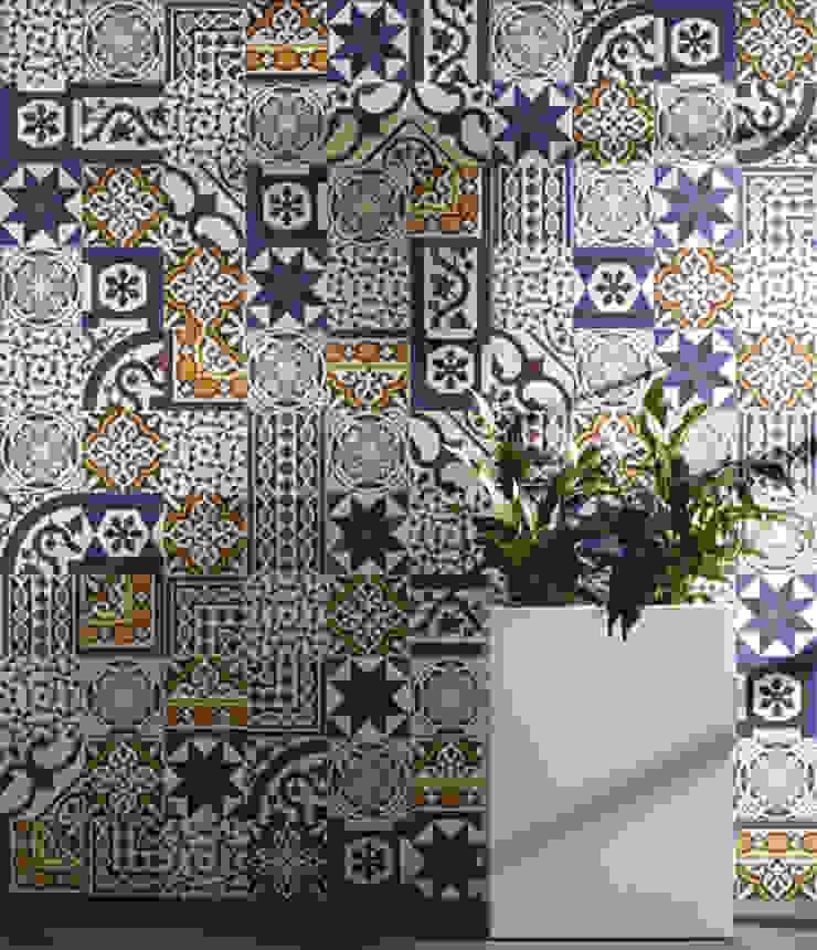 Victorian mix revestimiento Paredes y suelos de estilo rústico de INTERAZULEJO Rústico