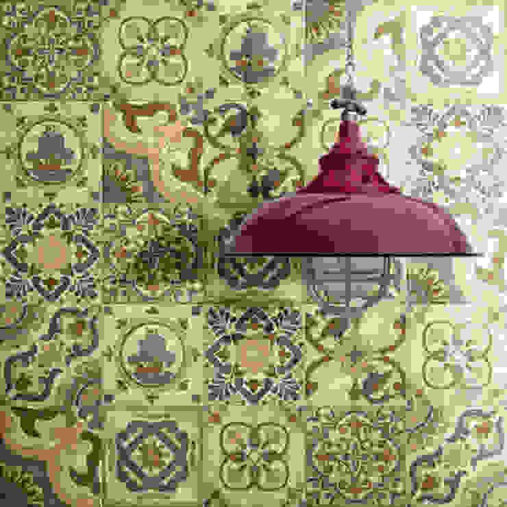 San Marco decorado Cocinas de estilo rústico de INTERAZULEJO Rústico