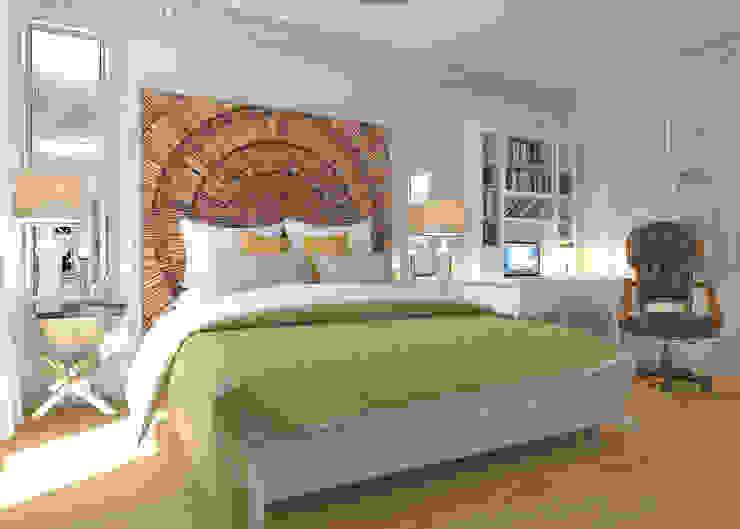 Дизайн квартиры в комплексе <q>Александрия</q> Спальня в стиле лофт от Студия Антона Базалийского Лофт