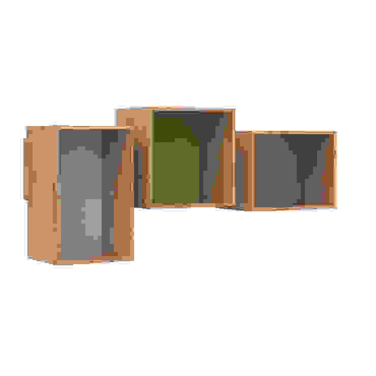 SJ Bookcase Midi: scandinavian  by We Do Wood, Scandinavian