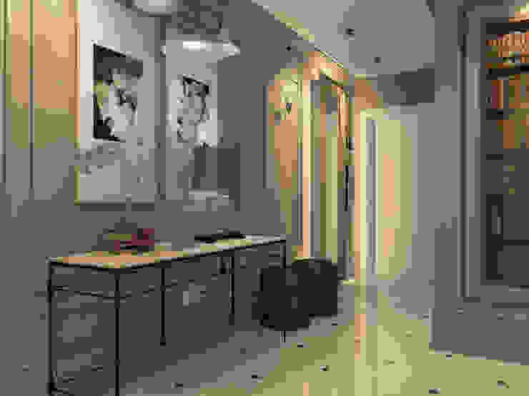 Дизайн квартиры в комплексе <q>Александрия</q> Кухня в стиле лофт от Студия Антона Базалийского Лофт