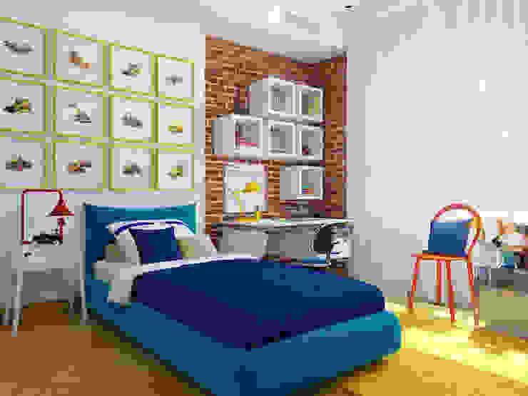 Nursery/kid's room by Студия Антона Базалийского, Industrial