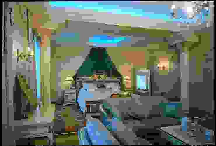 Золотой ар-Деко Спальня в классическом стиле от Studio B&L Классический