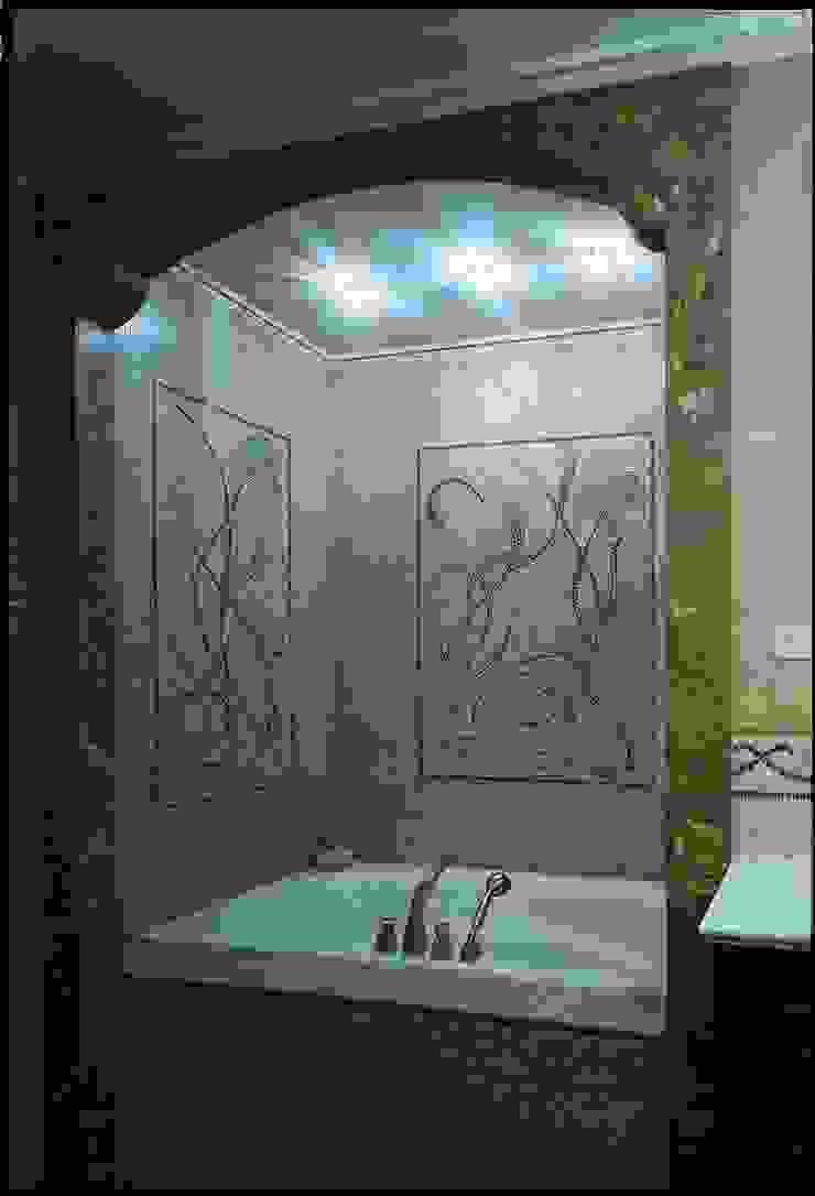 Золотой ар-Деко Ванная в классическом стиле от Studio B&L Классический