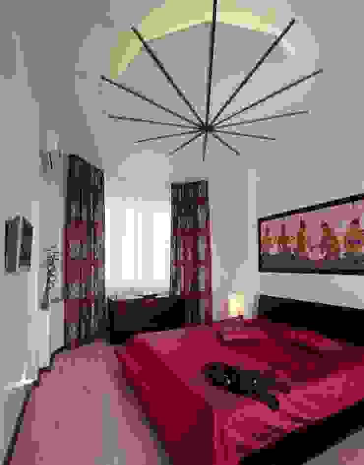 Да здравствует чил-аут! Спальня в азиатском стиле от Studio B&L Азиатский