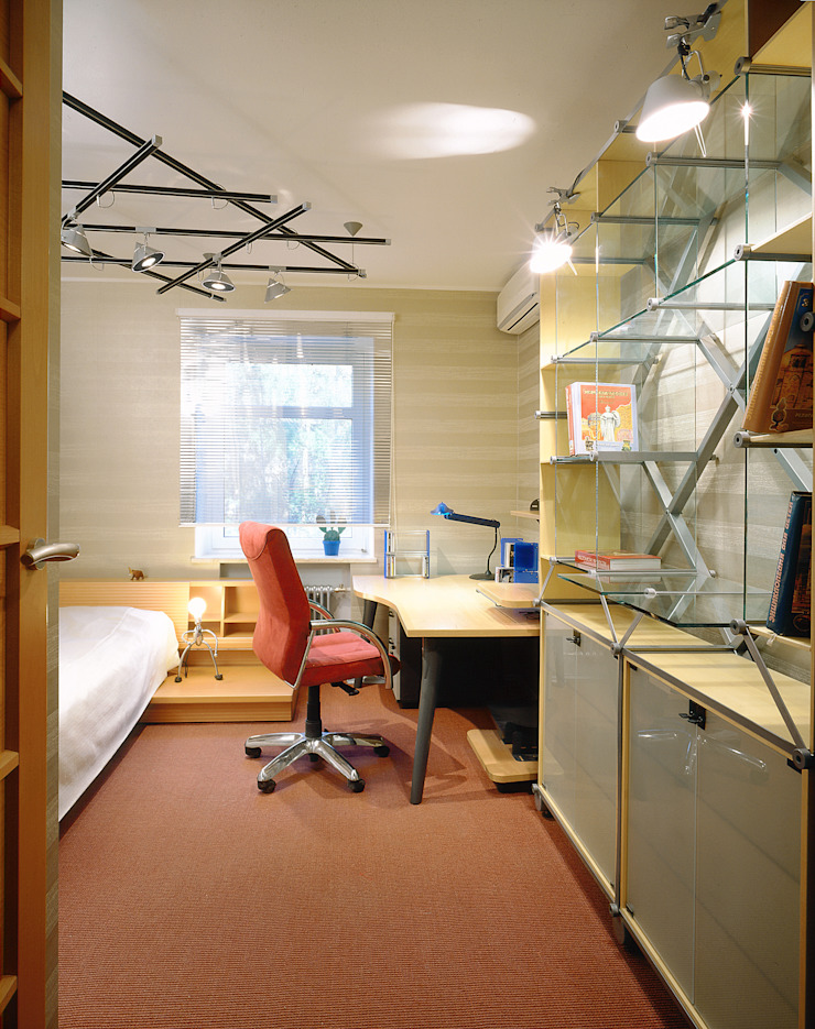 Балтийские дюны Детская комнатa в стиле минимализм от Studio B&L Минимализм