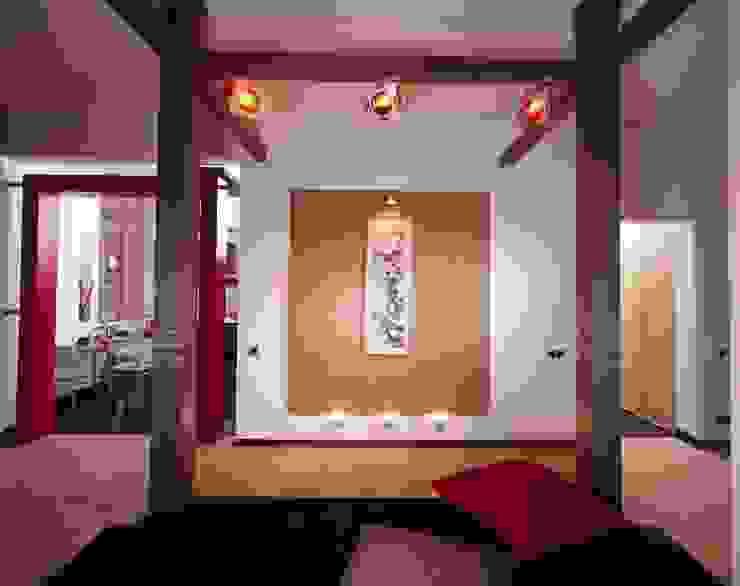 Да здравствует чил-аут! Гостиная в азиатском стиле от Studio B&L Азиатский