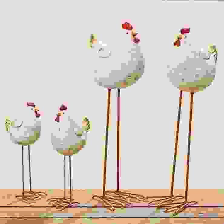 Wielkanocny kurczak, kurka - 2 rozmiary od Silly Design - prezentowa porcelana Rustykalny