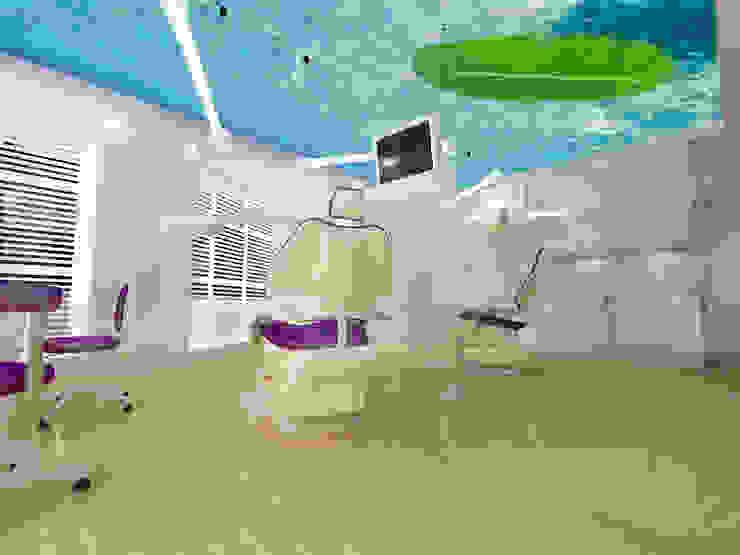 """Стоматология """"Denta Family"""" Кабинеты врачей в стиле минимализм от ЙОХ architects Минимализм"""