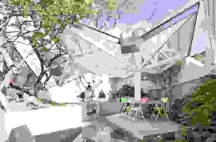 Jardins modernos por IROJE KIMHYOMAN Moderno