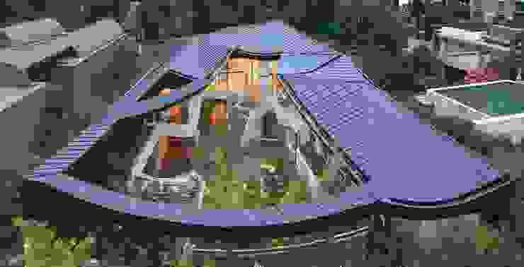 現代房屋設計點子、靈感 & 圖片 根據 IROJE KIMHYOMAN 現代風