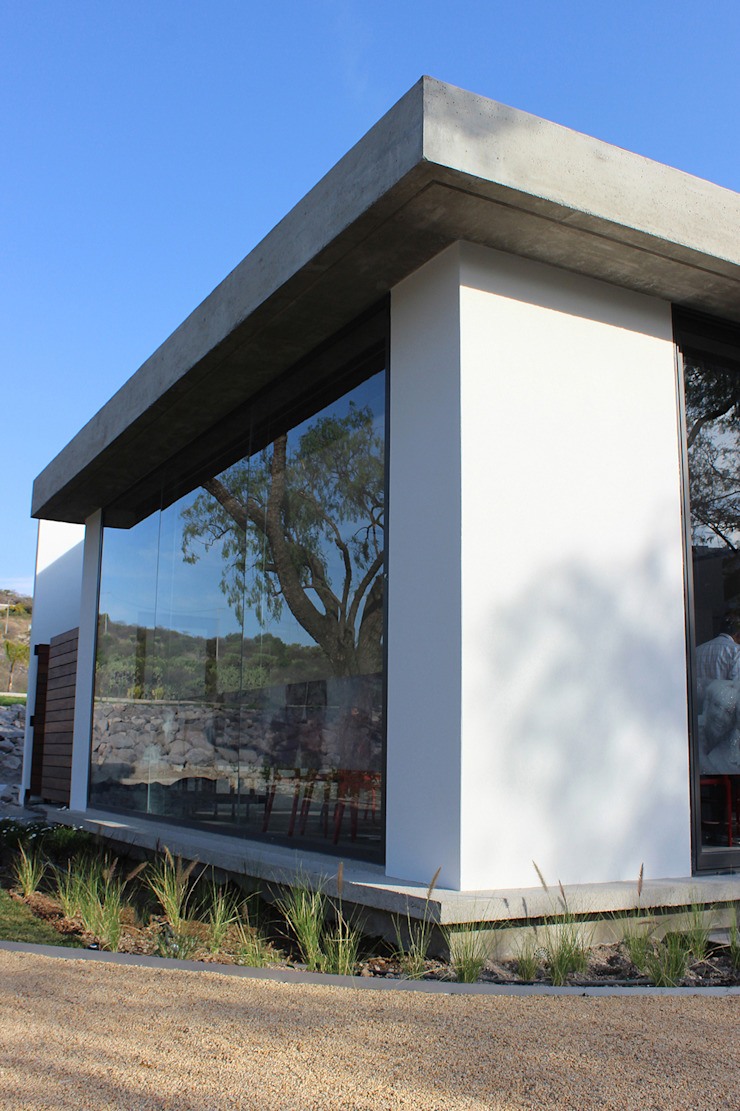 Snack Club Casablanca Gimnasios domésticos modernos de VG+VM Arquitectos Moderno