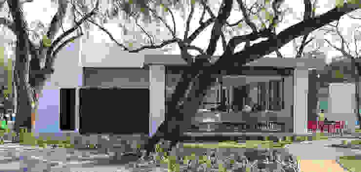 Phòng tập phong cách hiện đại bởi VG+VM Arquitectos Hiện đại