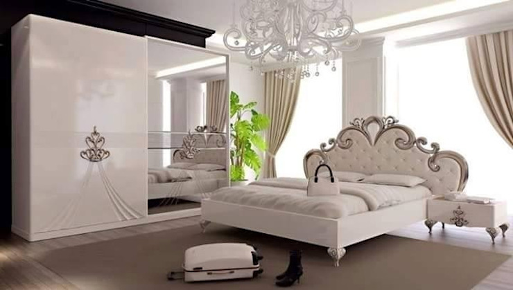 Avangart Yatak Odası Mahir Mobilya Rustik