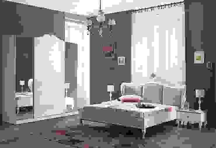 Avangart Tarz Yatak Odası Mahir Mobilya Rustik