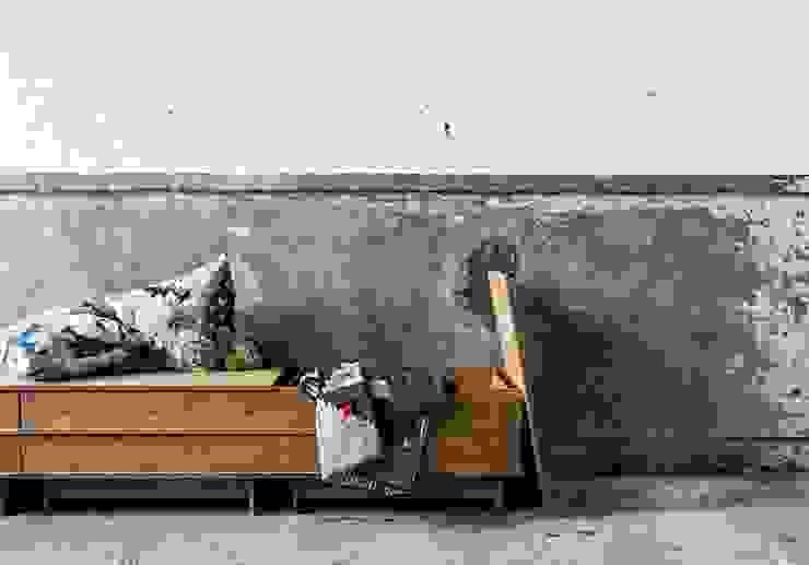 Projekty,  Jadalnia zaprojektowane przez We Do Wood,