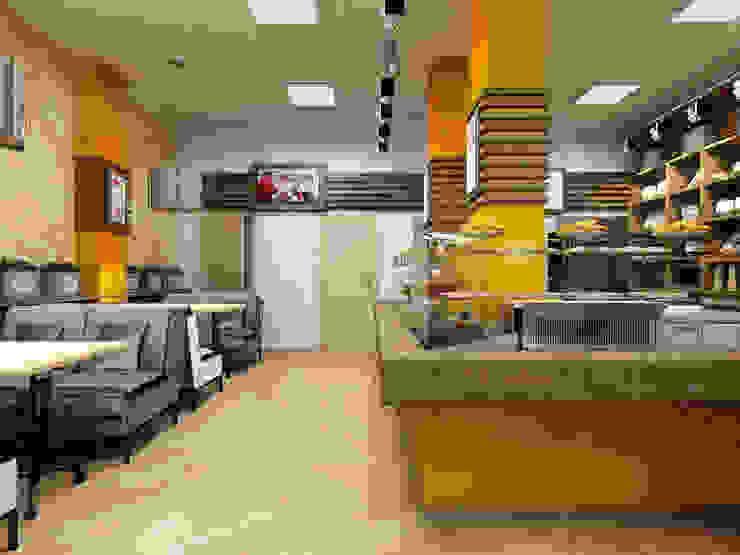 Кулинария <q>Сели-съели</q> от ЙОХ architects Эклектичный