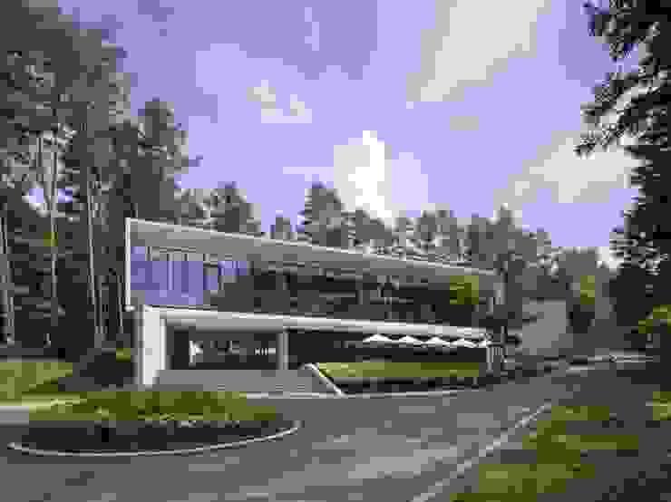 TRIF FUJI NATIONAL PARK RESORT & SPA の 窪田建築都市研究所 有限会社