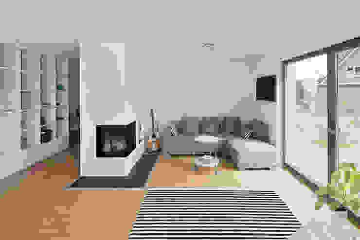 Wohnzimmer Skandinavische Wohnzimmer von gondesen architekt Skandinavisch