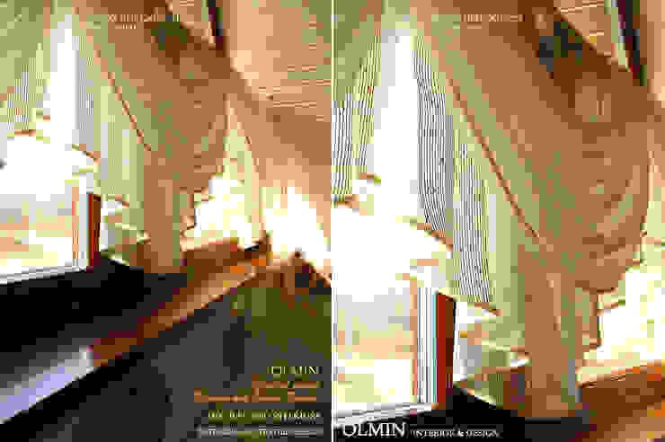 Текстиль в Интерьере Окна и двери в классическом стиле от ИП OLMIN - Архитектурная студия Олега Минакова Классический