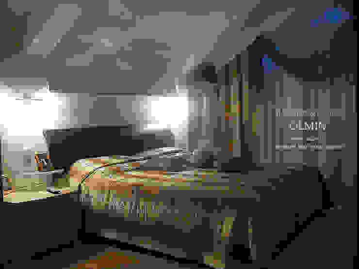 ПоТолковая квартира Спальня в стиле модерн от ИП OLMIN - Архитектурная студия Олега Минакова Модерн