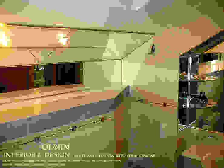 ПоТолковая квартира Ванная комната в стиле модерн от ИП OLMIN - Архитектурная студия Олега Минакова Модерн