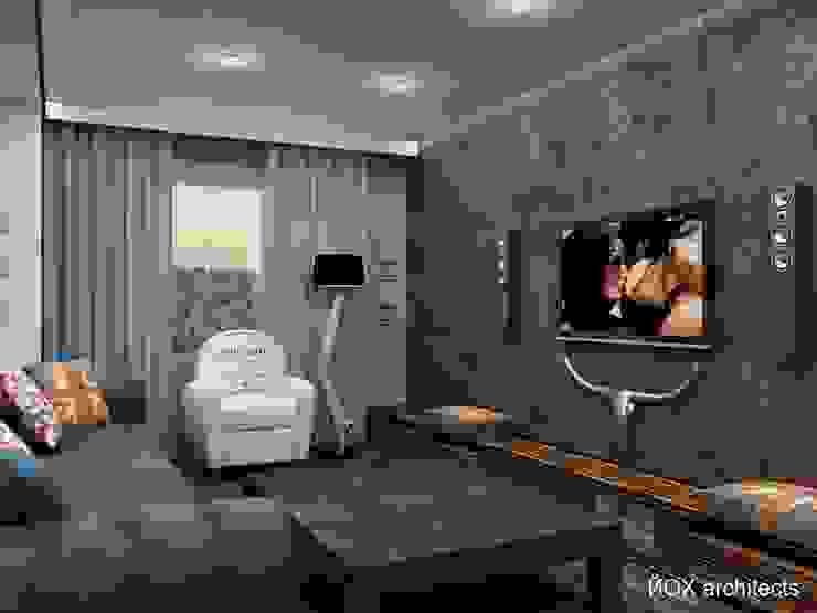 Квартира <q>Ироничный Лондон</q> Гостиные в эклектичном стиле от ЙОХ architects Эклектичный