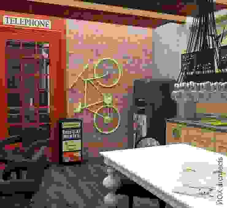 Квартира <q>Ироничный Лондон</q> Кухни в эклектичном стиле от ЙОХ architects Эклектичный