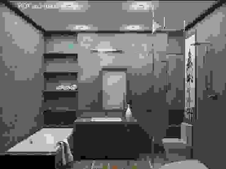 Квартира <q>Ироничный Лондон</q> Ванная комната в стиле минимализм от ЙОХ architects Минимализм