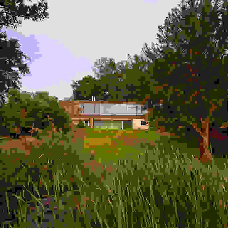 Villa am Bielersee I Schweiz bauzeit architekten